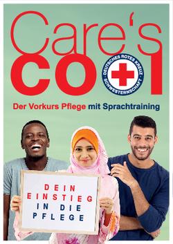 Care's cool - Der Vorkurs Pflege mit Sprachtraining