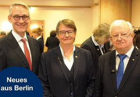 Wiederwahl bei Mitgliederversammlung in Berlin